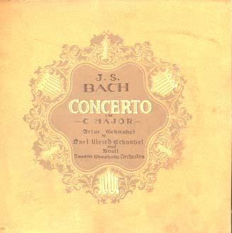 BACH/CONCERTO IN C MAJOR ADRIAN BOULT (指揮) 画像