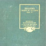 BRAHMS/CONCERTO NO. 1