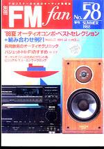 別冊FM fan 1988 SUMMER 58号