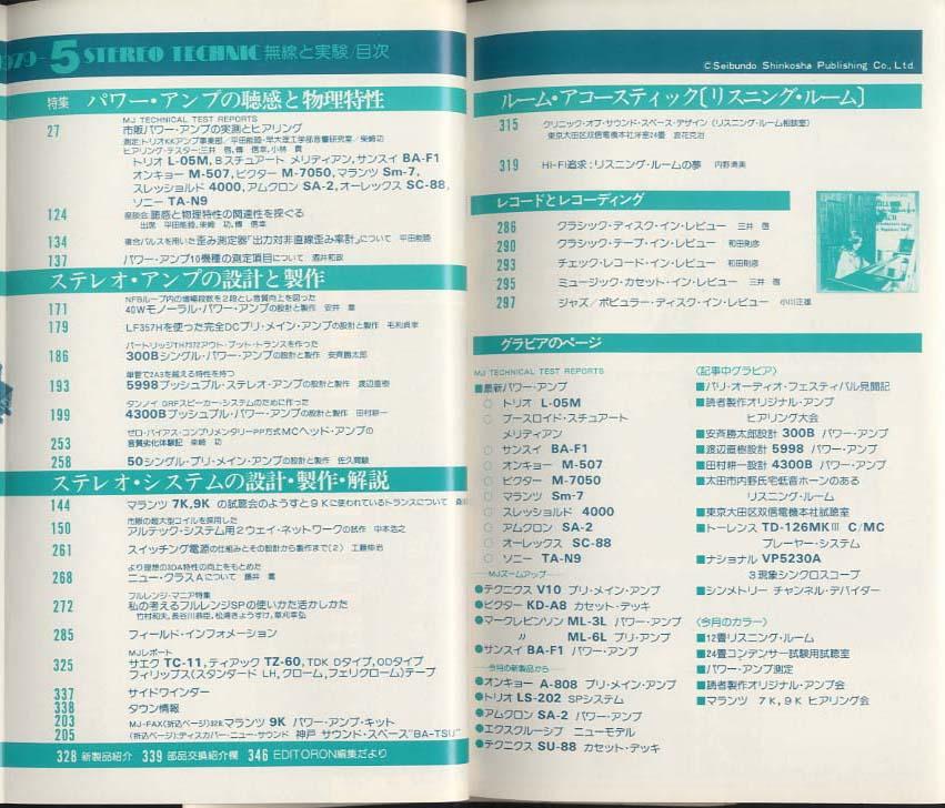 無線と実験 1979年5月号 誠文堂新光社 画像