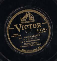 LA CUMPARSITA(ラ クムパルシータ) Albert Gomez /Juan D'Arienzo 画像