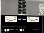 GAS AMPZILLA-2/OWNER'S MANUAL