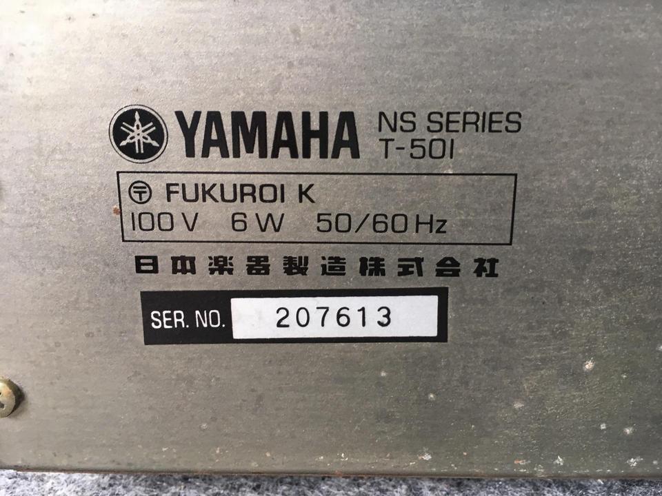 T-501 YAMAHA 画像