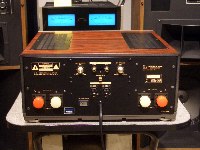 Jbl Control 28 >> M-08 LUXMAN - HiFi-Do McIntosh/JBL/audio-technica/Jeff Rowland/Accuphase