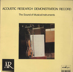 ACOUSTIC RESEARCH DEMONSTRATION RECORD
