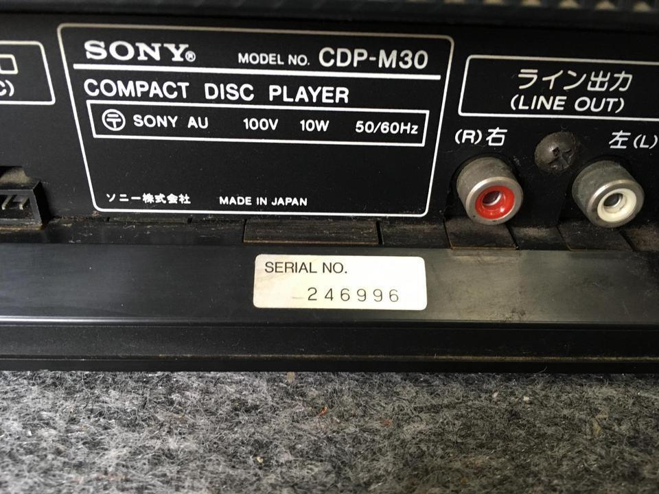 CDP-M30 SONY 画像