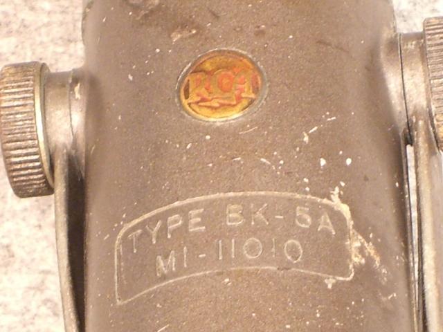 TYPE BK-5A(MI-11010) RCA 画像