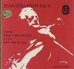 J.S.バッハ:無伴奏チェロ組曲第3番/第4番