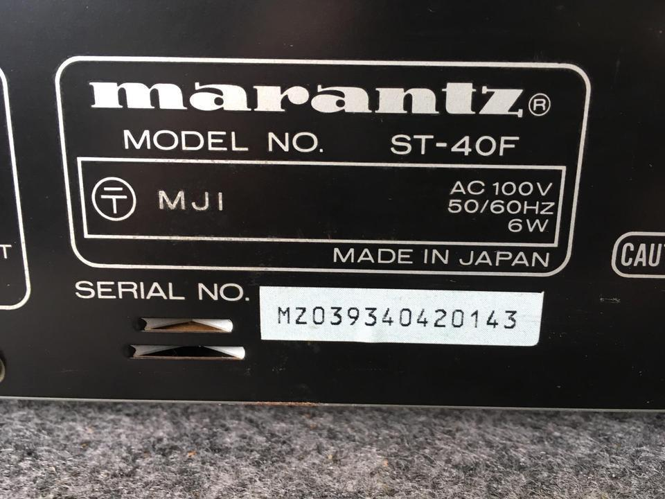 ST-40 MARANTZ 画像