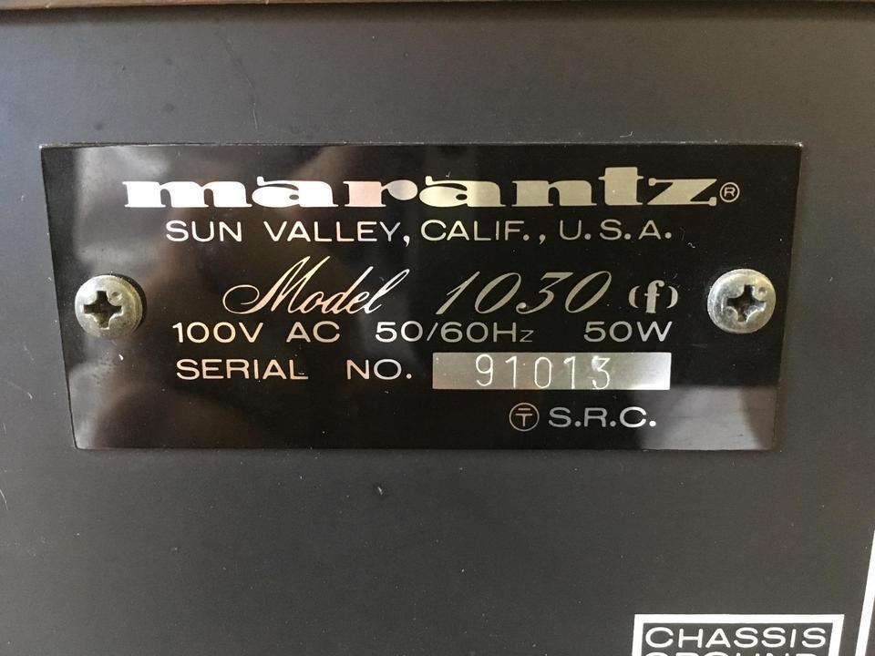 model 1030F MARANTZ 画像