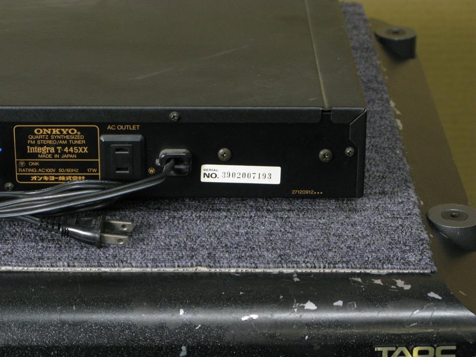 Integra T-445XX ONKYO 画像
