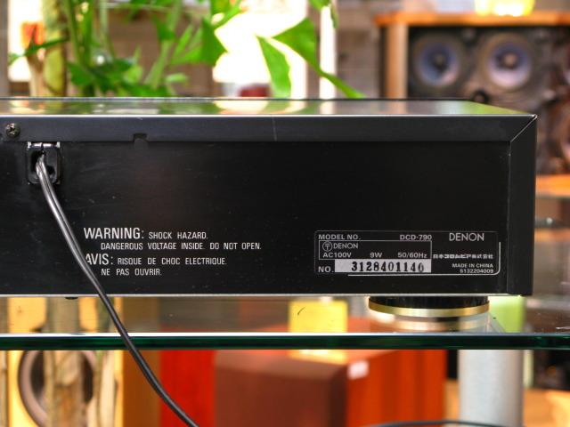 DCD-790 DENON デノン CDプレーヤー・CDトランスポート image[h]