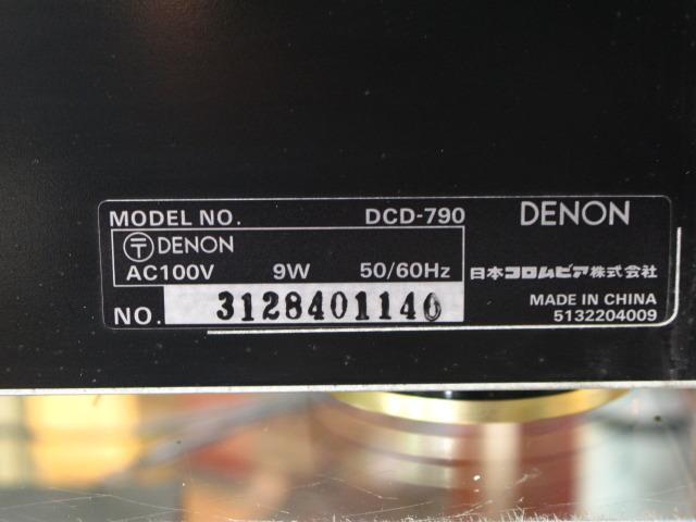 DCD-790 DENON デノン CDプレーヤー・CDトランスポート image[i]