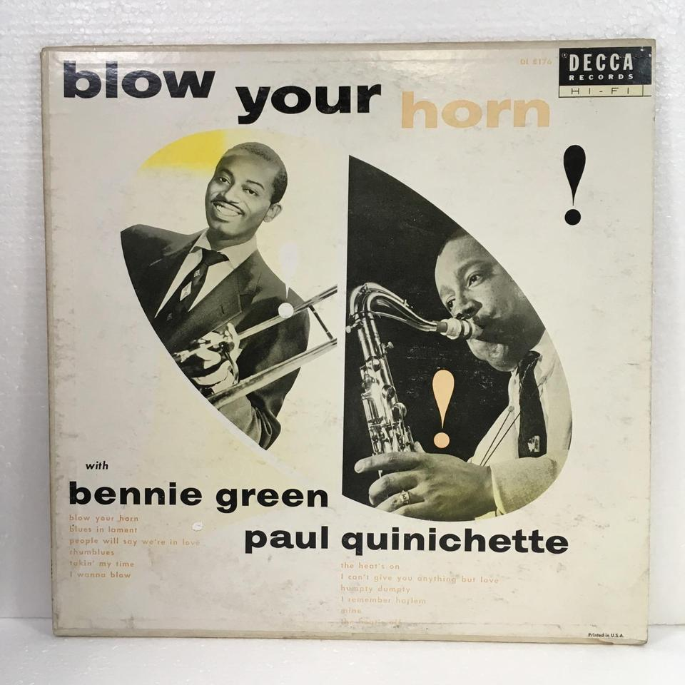BLOW YOUR HORN/BENNIE GREEN & PAUL QUINICHETTE BENNIE GREEN & PAUL QUINICHETTE 画像