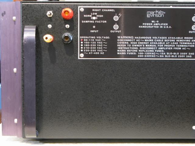 ML-9L Mark Levinson - HiFi-Do McIntosh/JBL/audio-technica