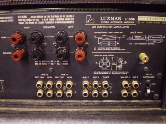 L-68A LUXMAN image[f]