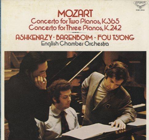 モーツァルト:2台のピアノのための協奏曲 変ホ長調 K.365、3台の ...