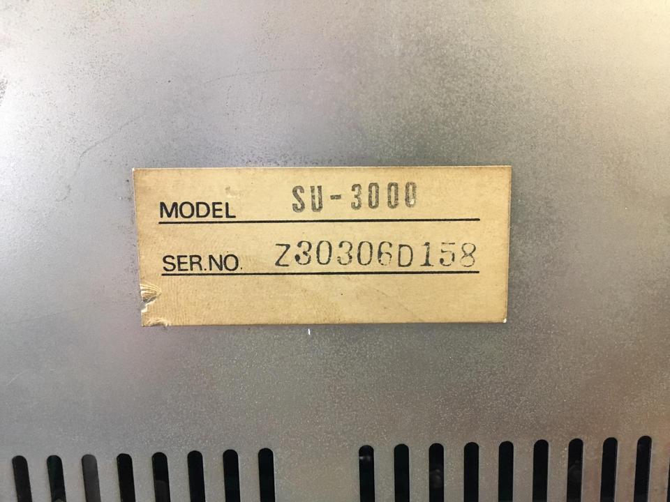 SU-3000 TECHNICS 画像