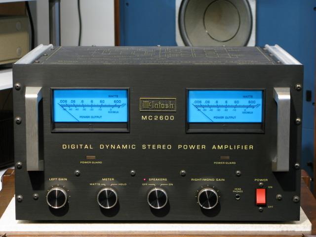McIntosh : MC2600 - 中古   オーディオユニオン