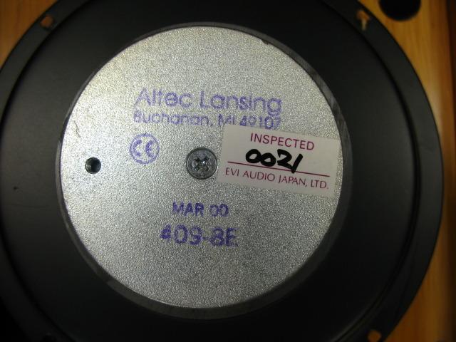 409-8E+エンクロージャー ALTEC アルテック スピーカー(海外製品) image[j]