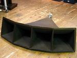 木製セクトラルホーン+小型ドライバー