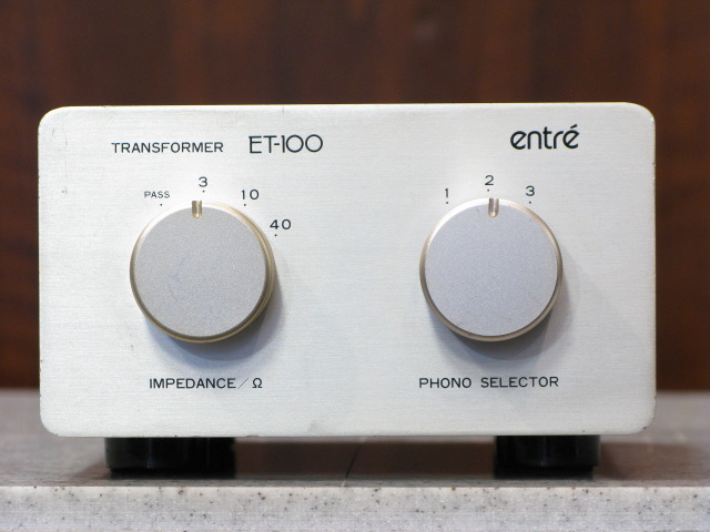 ET-100 entre アントレー 昇圧トランス image[a]