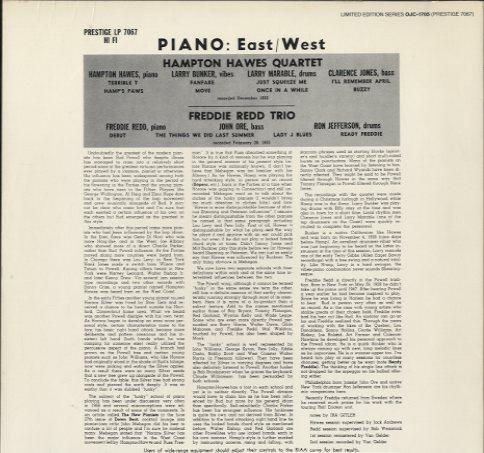 piano east west hampton hawes hampton hawes p. Black Bedroom Furniture Sets. Home Design Ideas