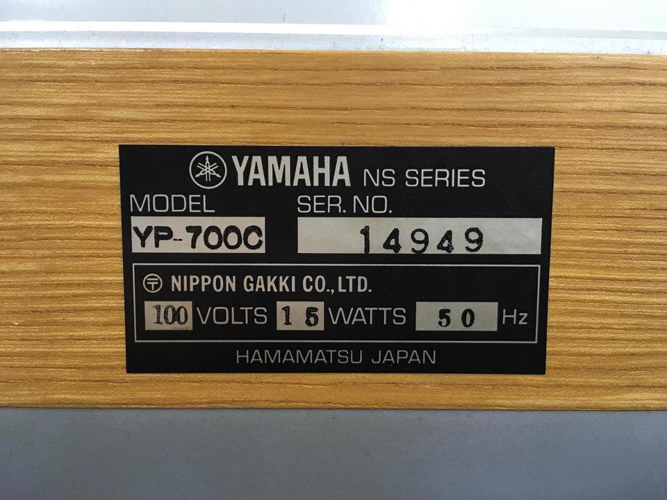 YP-700C YAMAHA 画像