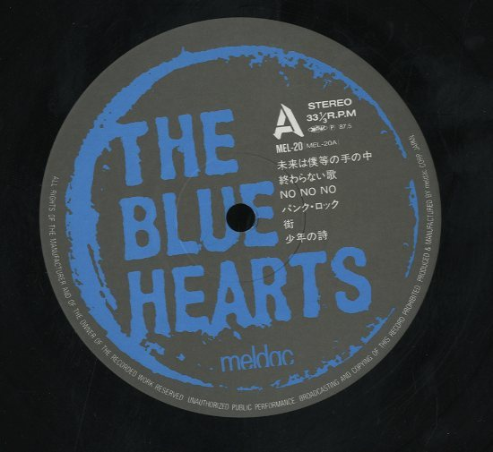 THE BLUE HEARTSの画像 p1_5