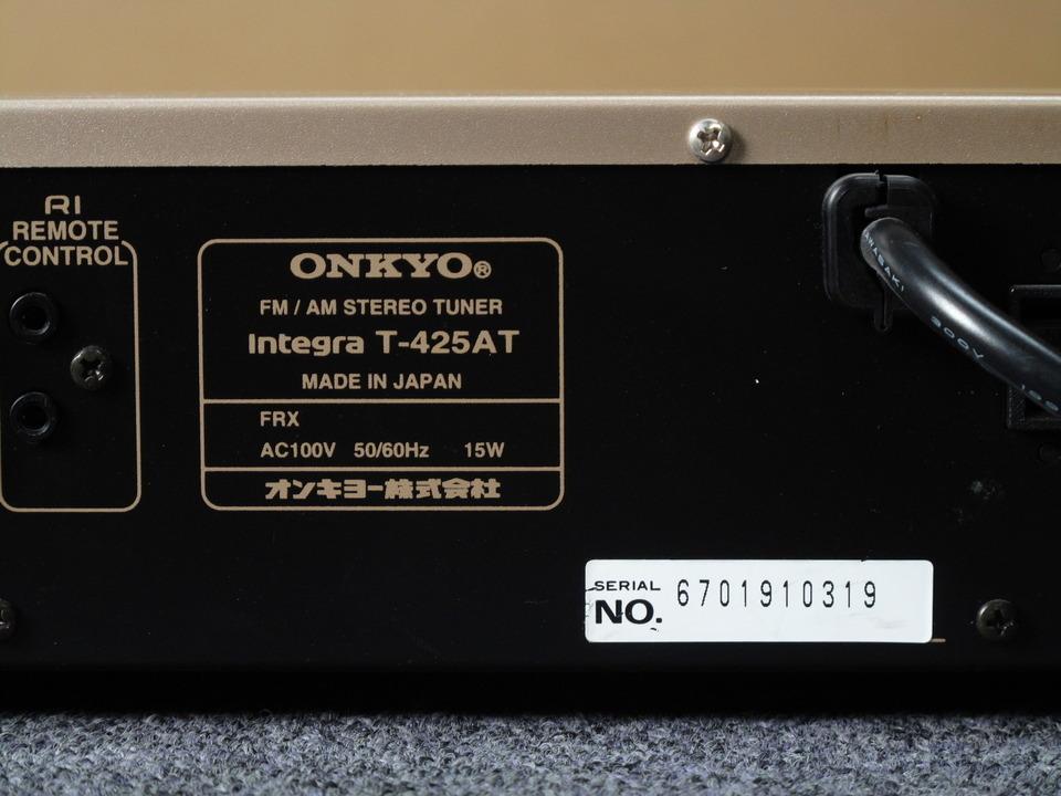 Interga T-425AT ONKYO 画像