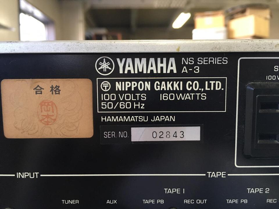 A-3 YAMAHA 画像
