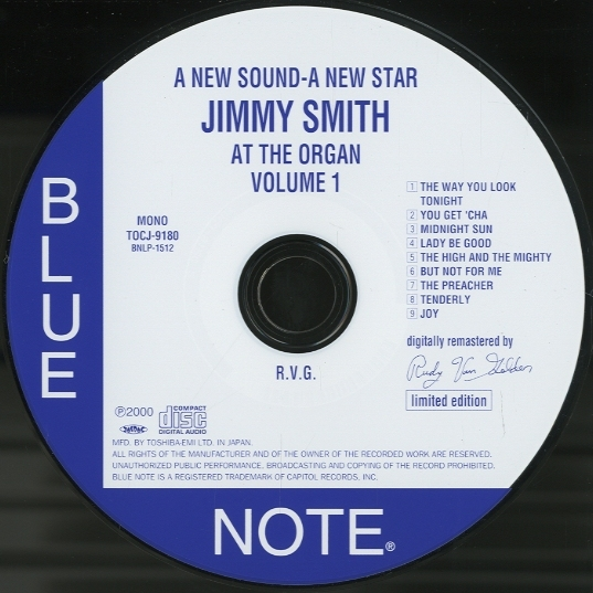 A New Sound A New Star: Jimmy Smith at the Organ Volume 2
