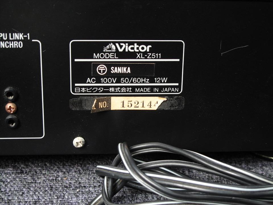 XL-Z511 VICTOR 画像