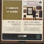 ムソルグスキー:展覧会の絵/バルトーク:弦楽、打楽器とチェレスタのための音楽