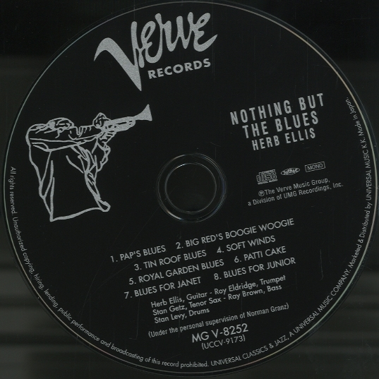NOTHING BUT THE BLUES/HERB ELLIS(紙ジャケ) HERB ELLIS - 中古