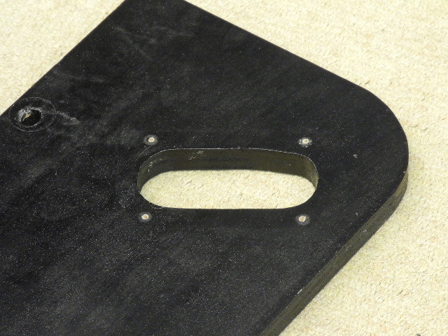 TD124用アームボード 自作 画像