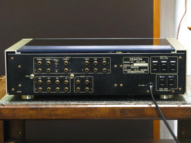 PRA-6000 DENON 画像
