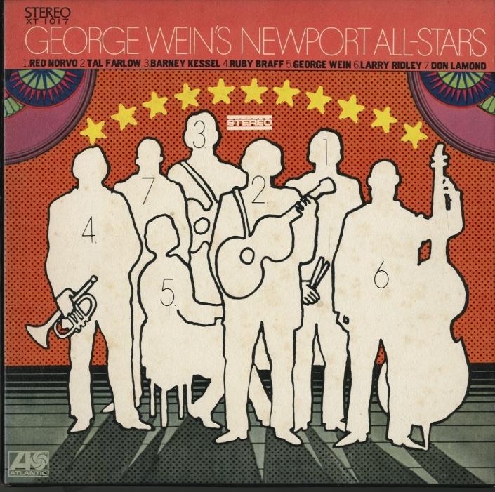 GEORGE WEIN'S NEWPORT ALL-STARS  画像
