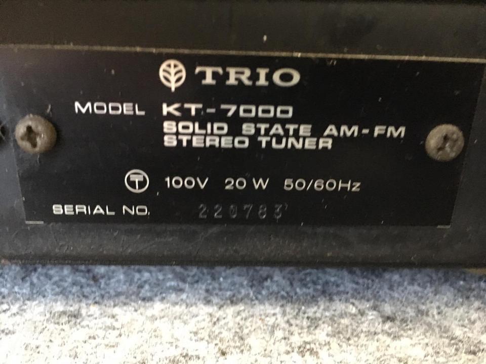 KT-7000 TRIO 画像