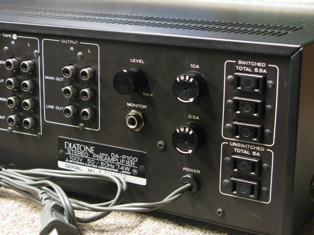 DA-P100 DIATONE ダイヤトーン コントロールアンプ(トランジスター) image[j]