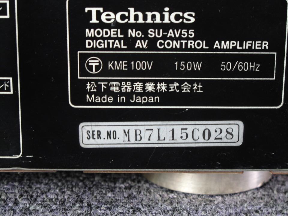 SU-AV55 Technics 画像