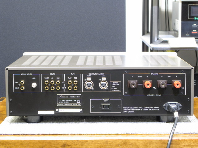 E-210 Accuphase 画像