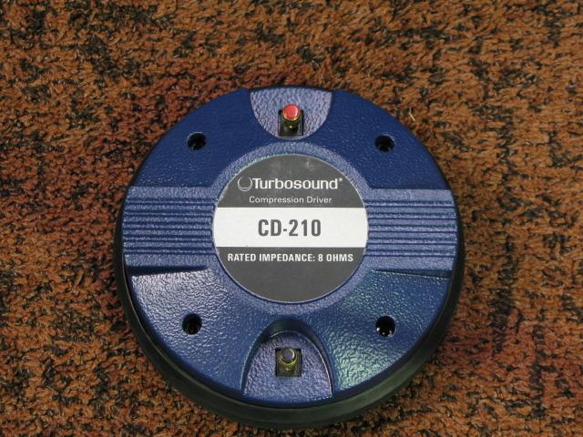 CD-210 Turbosound - HiFi-Do McIntosh/JBL/audio-technica/Jeff Rowland
