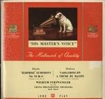 ハイドン:交響曲第94番「驚愕」/ブラームス:ハイドンの主題による変奏曲