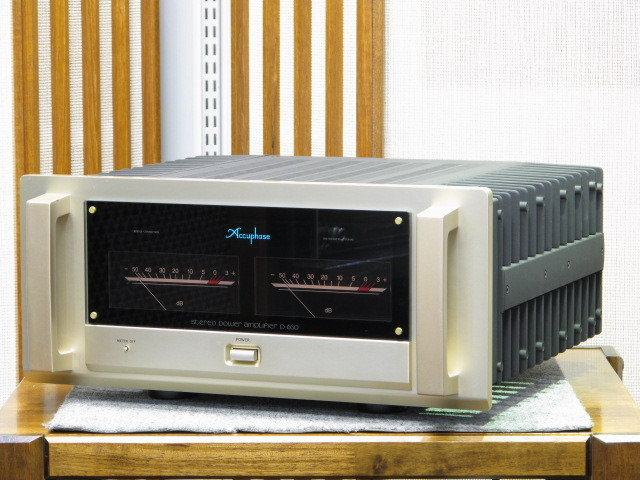 P-650 Accuphase 画像