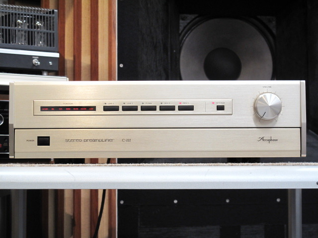 C-222 Accuphase 画像