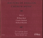 MASTERS OF ENGLISH CHURCH MUSIC