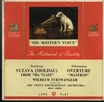 スメタナ:交響詩「モルダウ」/シューマン:「マンフレッド」序曲