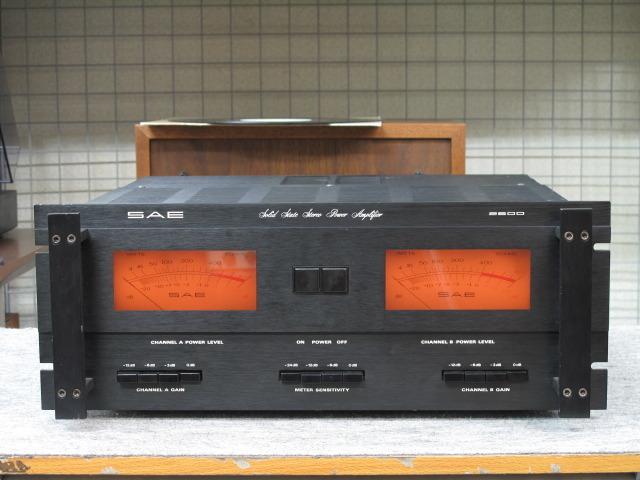 model 2600 SAE - HiFi-Do McIntosh/JBL/audio-technica/Jeff Rowland