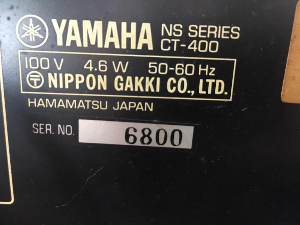 CT-400 YAMAHA 画像